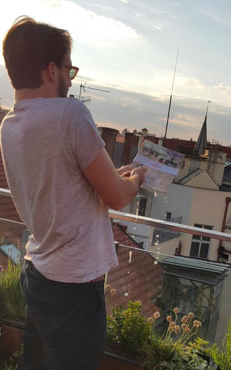 soffa magazine -sunset party in Prague @pratserie
