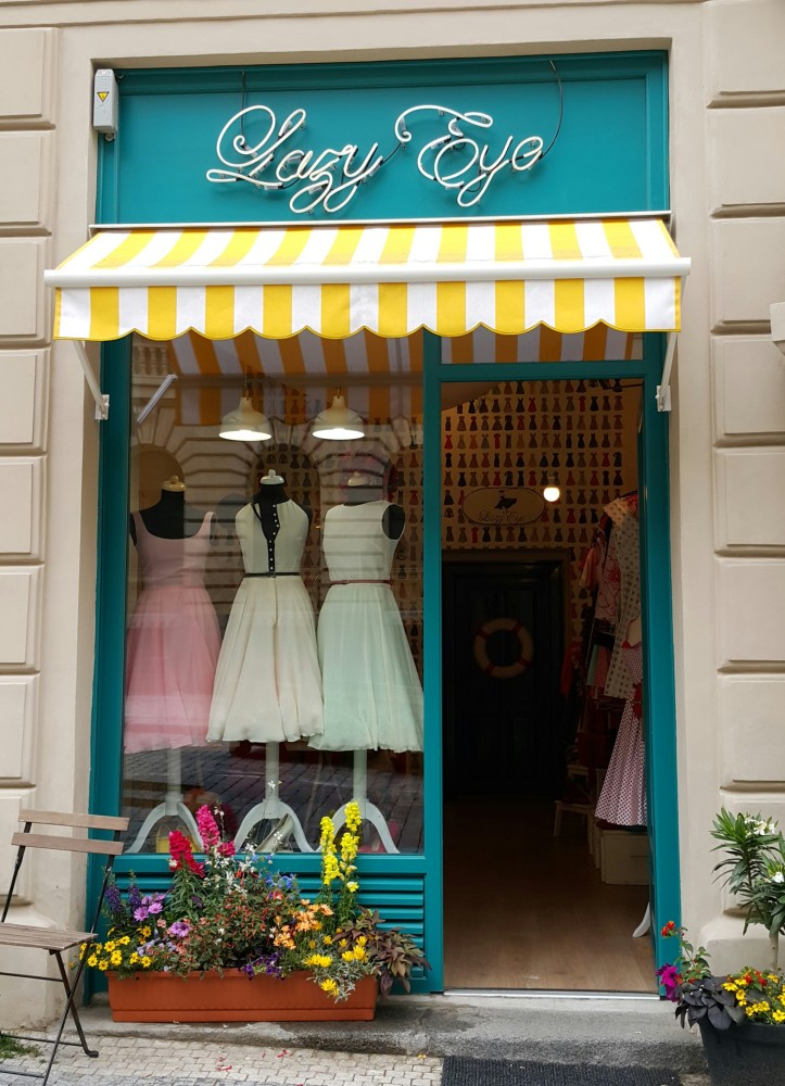 Lazy Eye shop in Prague @pratserie