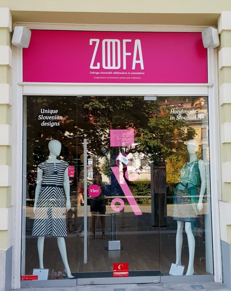 Zoffa, loja cooperativa em Liubliana, Slovênia @pratserie