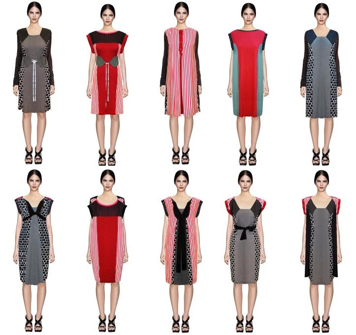 Um vestido, vários looks Multi-vestido @pratserie