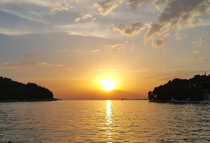 sunset in Cavtat, Croatia @pratserie