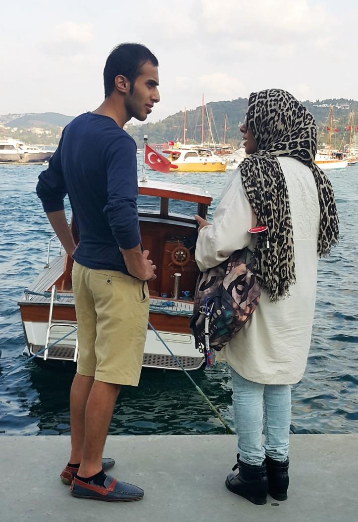 casual vs. hijab style Istambul @pratserie