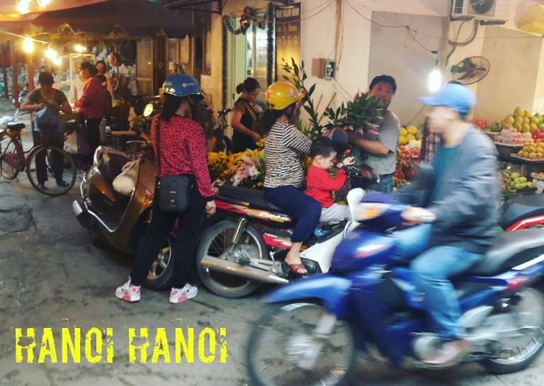 Scooters em Hanói, Vietnã @pratserie