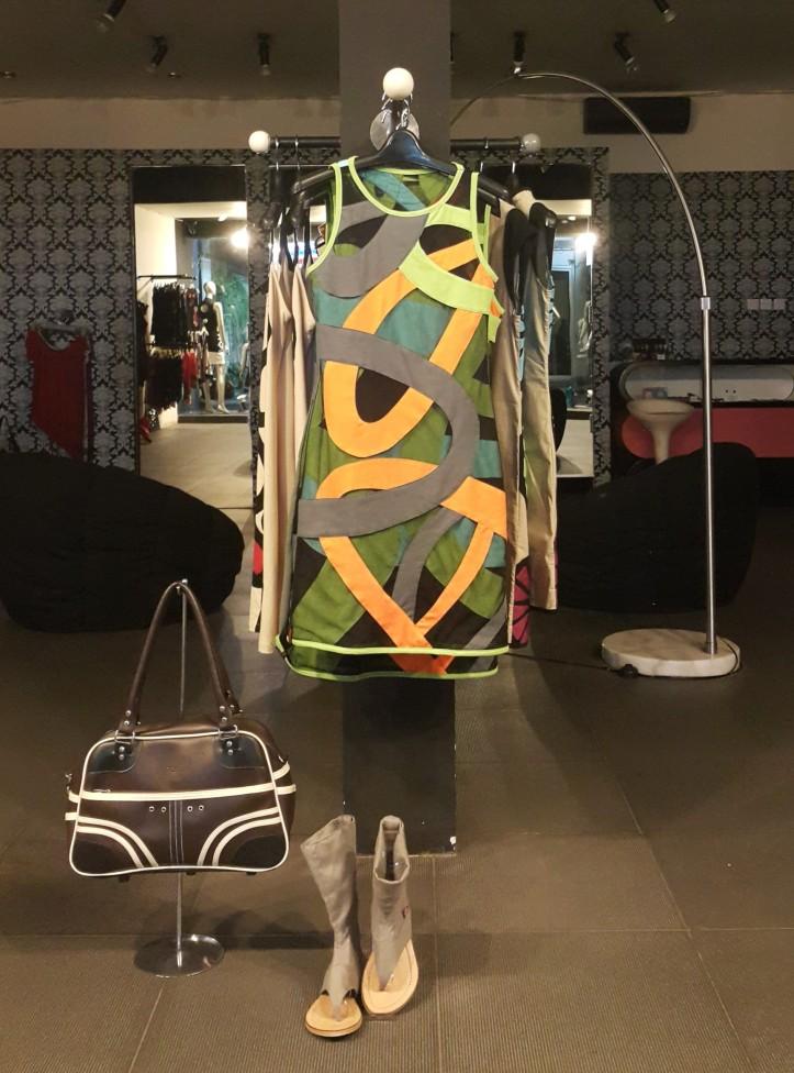 Curiosidades Moda Bali vitrine Ubud @pratserie