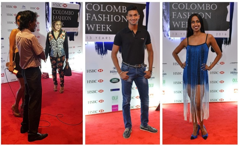 Celebridades Sri Lanka - Colombo Fashion Week por Fernanda Prats