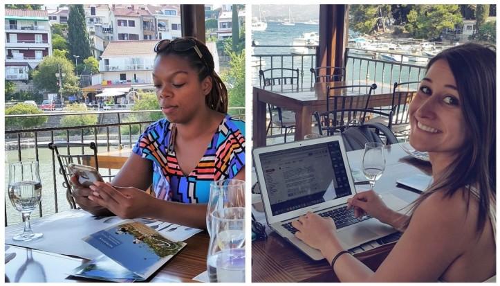working_at_the_beach_croatia_by_Fernanda_Prats