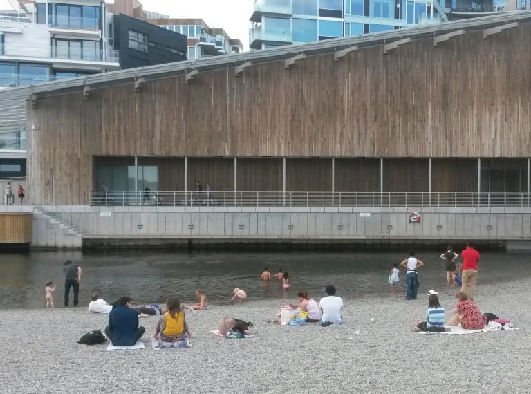 Beach in Oslo, Norway by Fernanda Prats