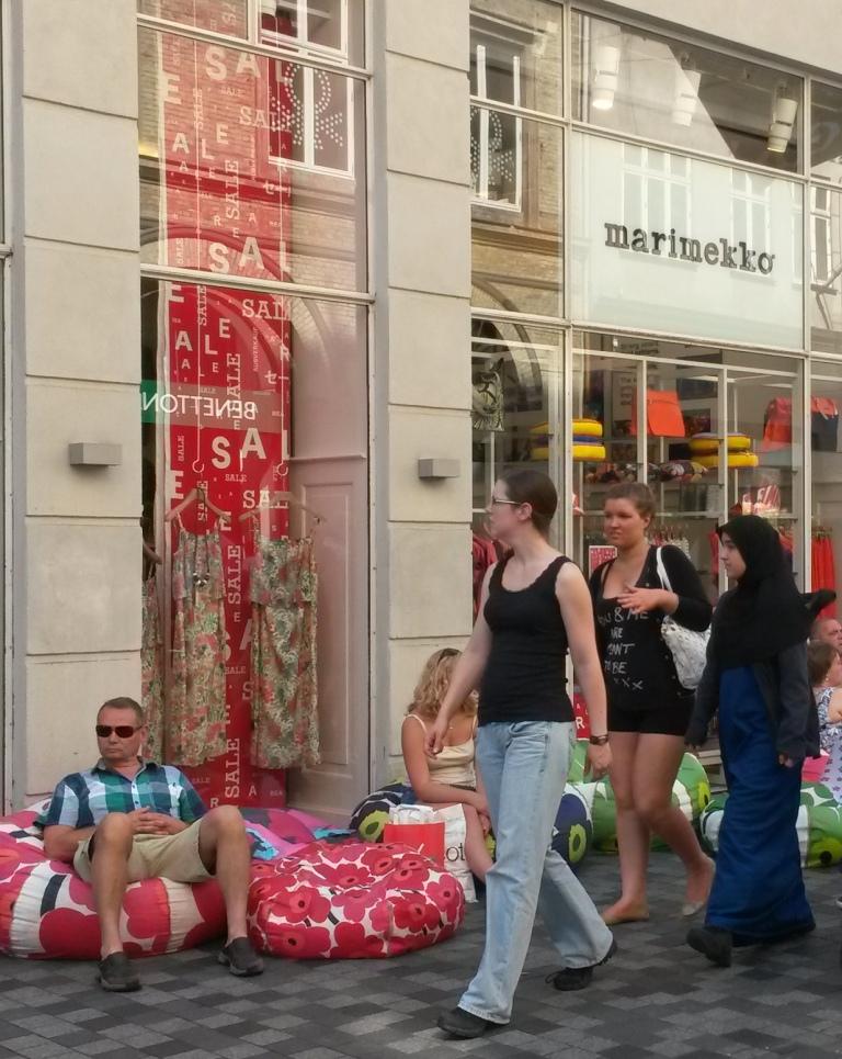 Marimekko shop in Helsinki @pratserie