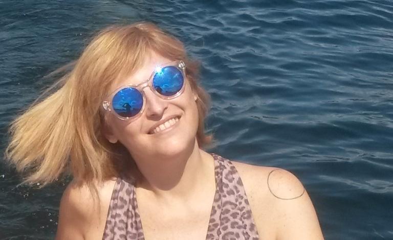 Fernanda Prats at the boat in Copenhagen @pratserie