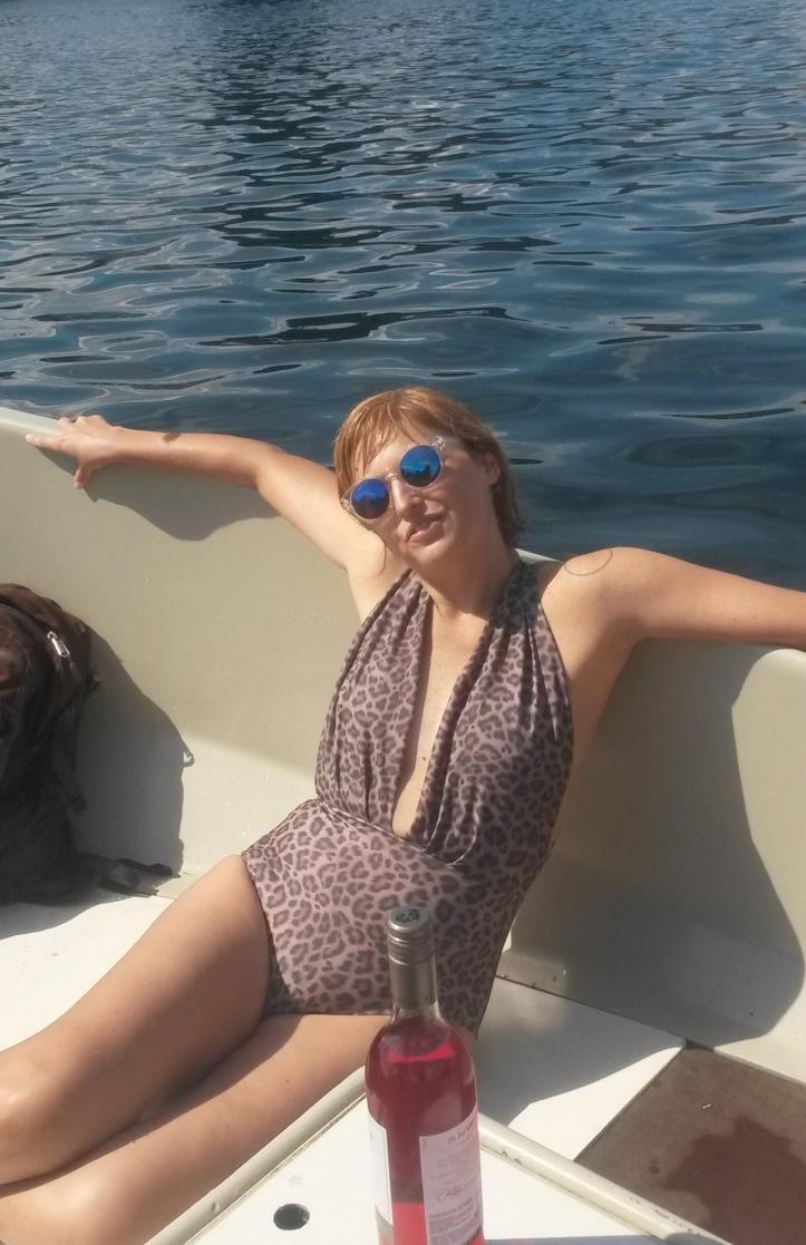 Fernanda Prats at the boat - Copenhagen @pratserie