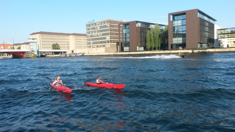 Kayaking in Copenhagen @pratserie