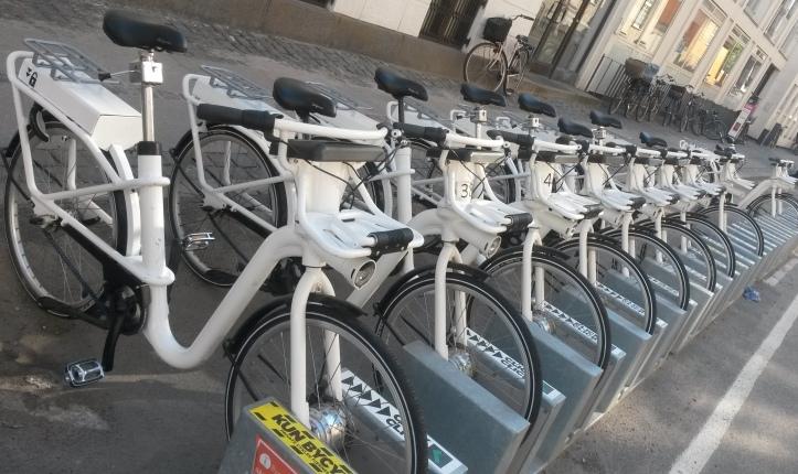 GPS bikes in Copenhagen @pratserie