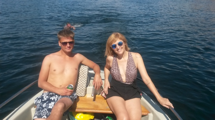 Boat rides in Fernanda Prats at the boat in Copenhagen @pratserie