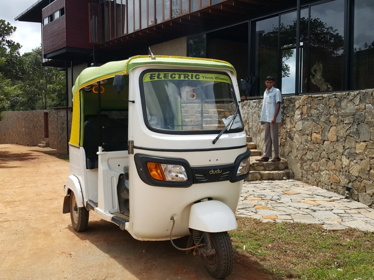 electric three wheeler (Sri Lanka)