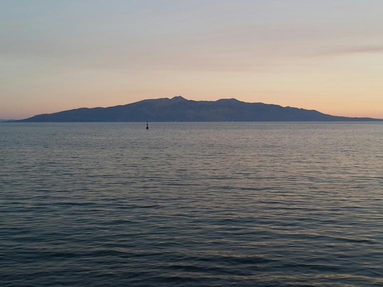 A ilha de Corfu, vista da riviera albanesa @pratserie