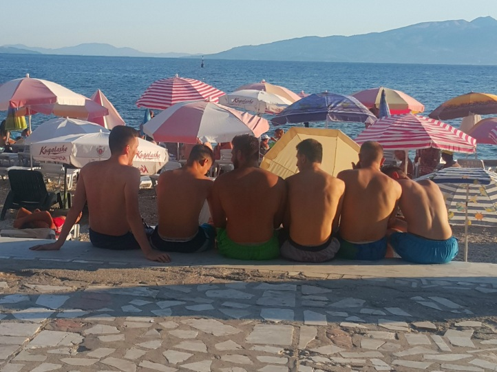 guys-at-the-beach-saranda-albania
