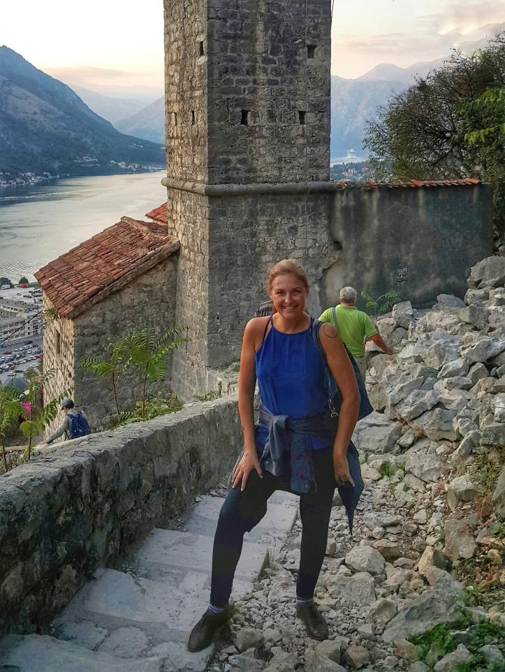 eu na Fortaleza de São João (Kotor, Montenegro) @pratserie