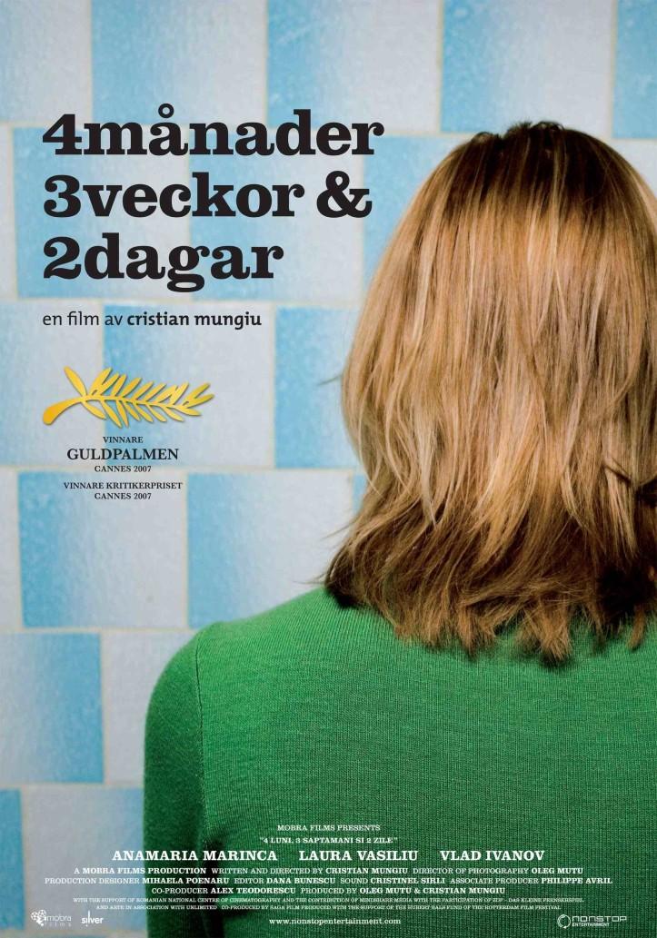 Cartaz do filme 4 meses, 3 semanas e 2 dias