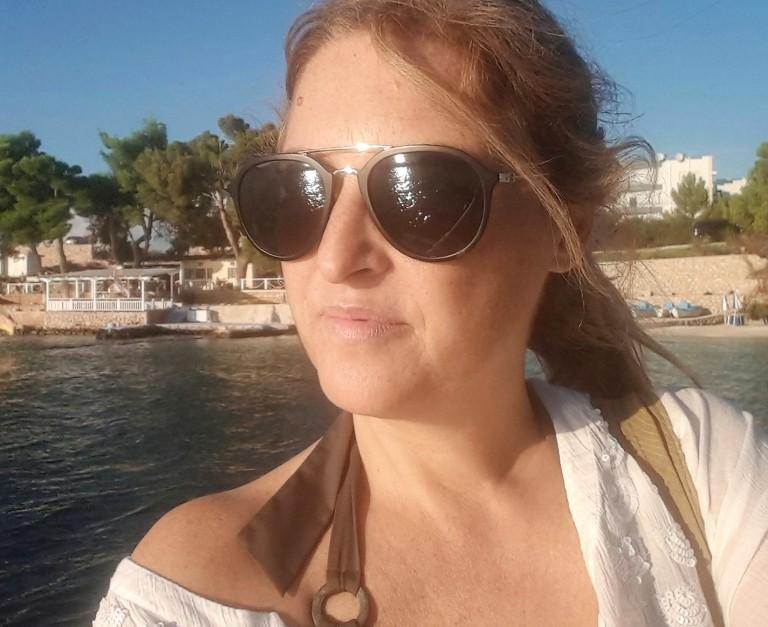 Selfie na praia - Albania.