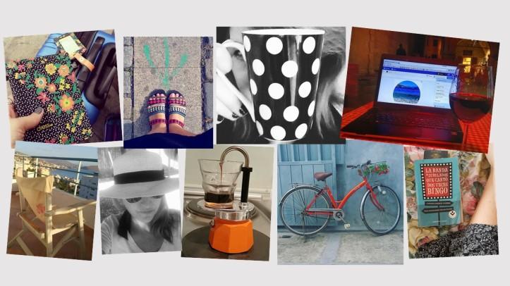 Colagem experiências de viagem por Fernanda Prats