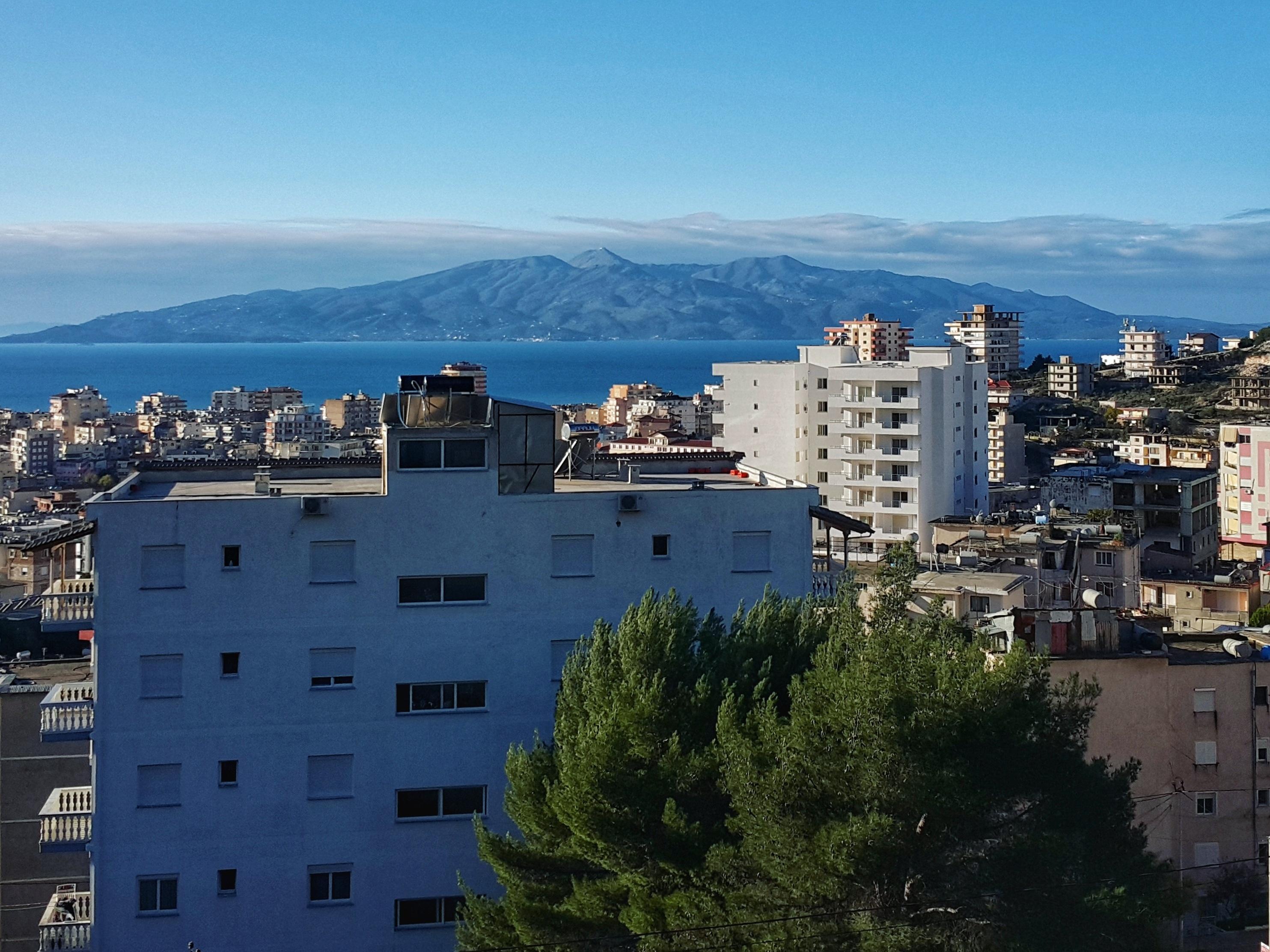 Corfu, Greece - view from Saranda, Albania @pratserie