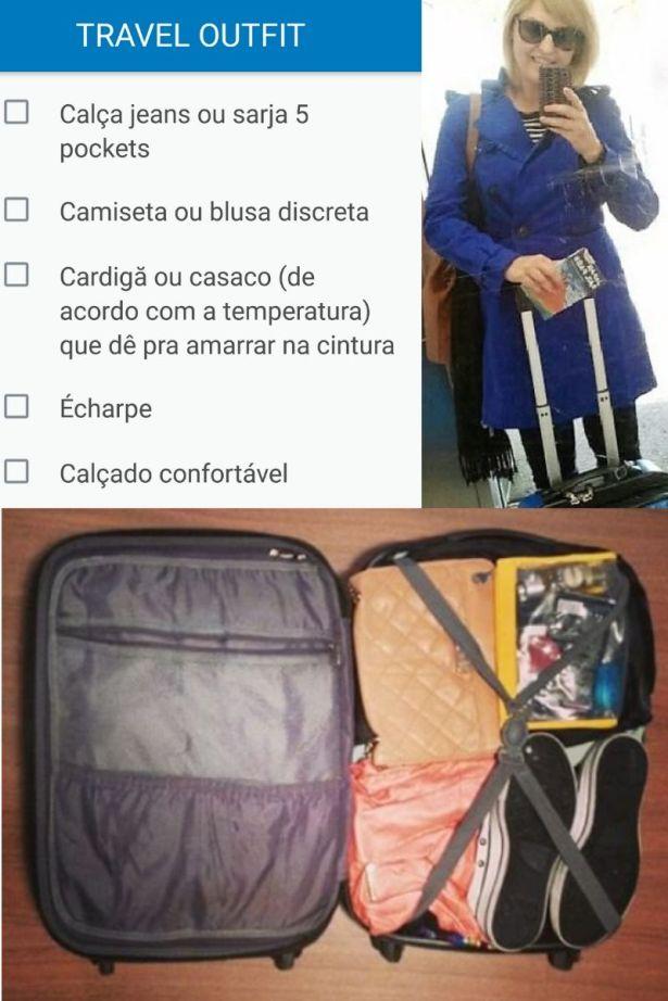 checklist de viagem @pratserie