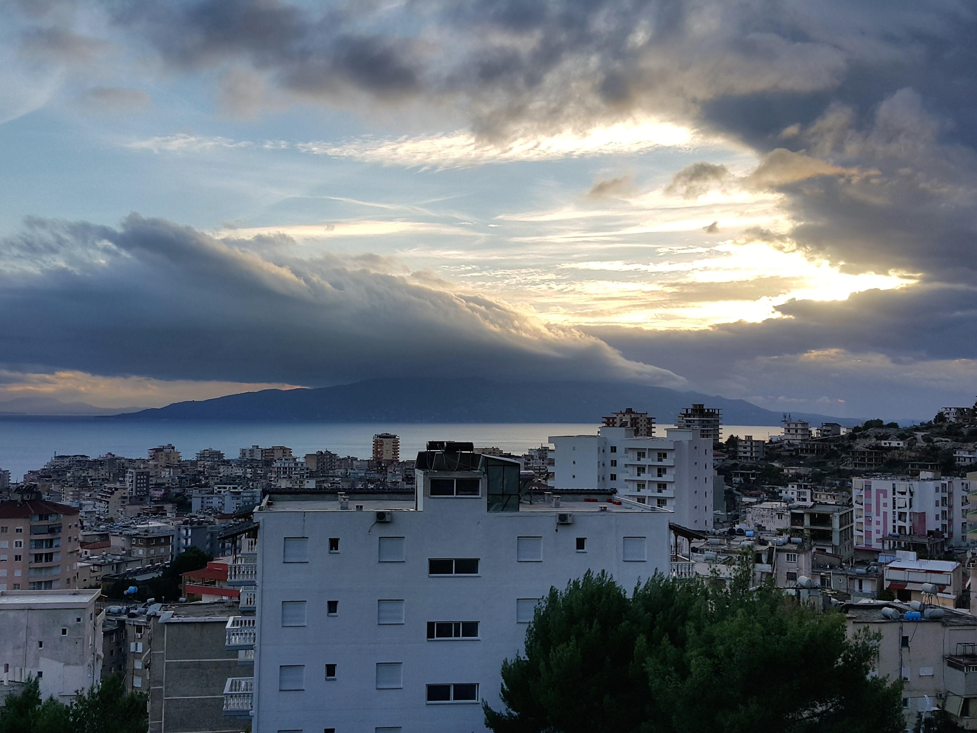 weather in Saranda, Albania @pratserie