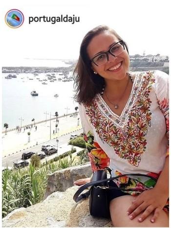 brazilian journalist Ju Alacantara