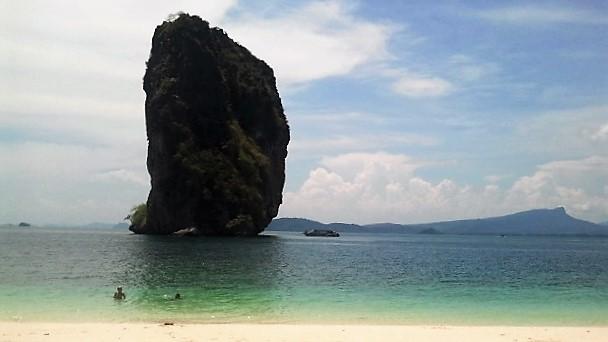 praia deserta na Tailândia @pratserie