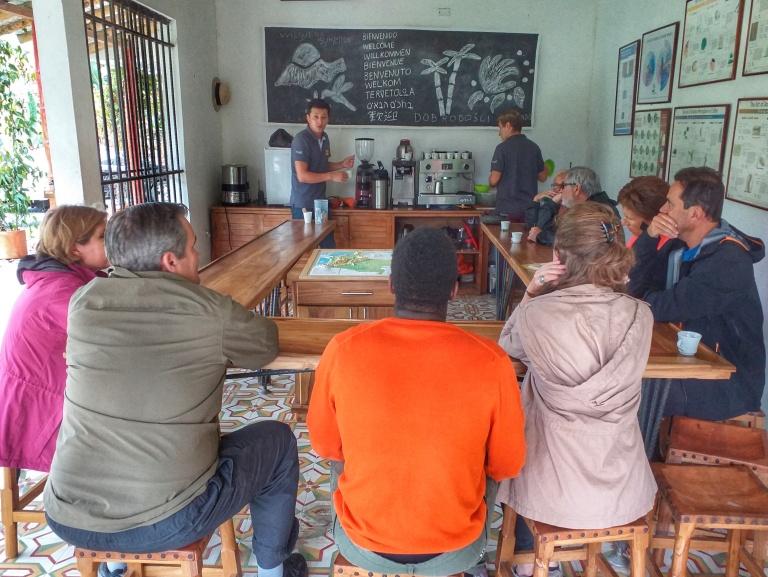 Tour de café na Colômbia