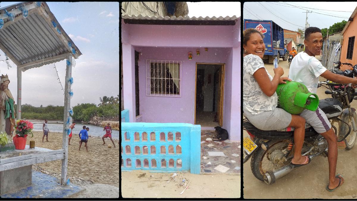 colombia daily life in ricon del mar